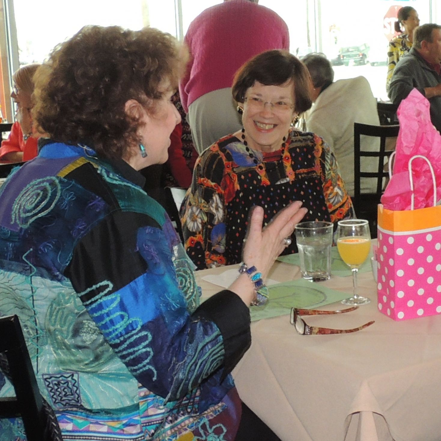 Legacy Board Member Roberta McDonald attended last year's PositiviTEA in Dallas.