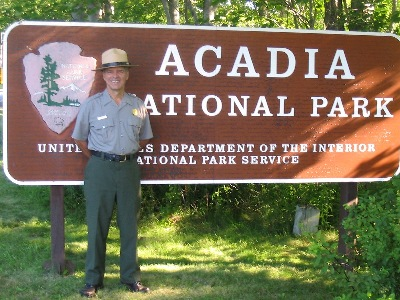 National Park Ranger David Donovan