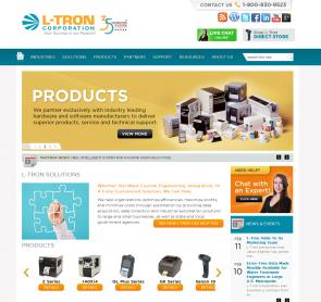 L-Tron.com Homepage