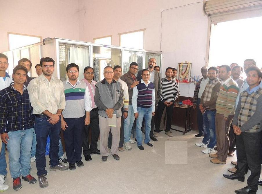 Sangam University Bhilwara Rajasthan Celebrates Vishwakarma Puja