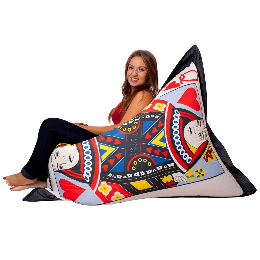 ICON Queen of Hearts Bean Bag