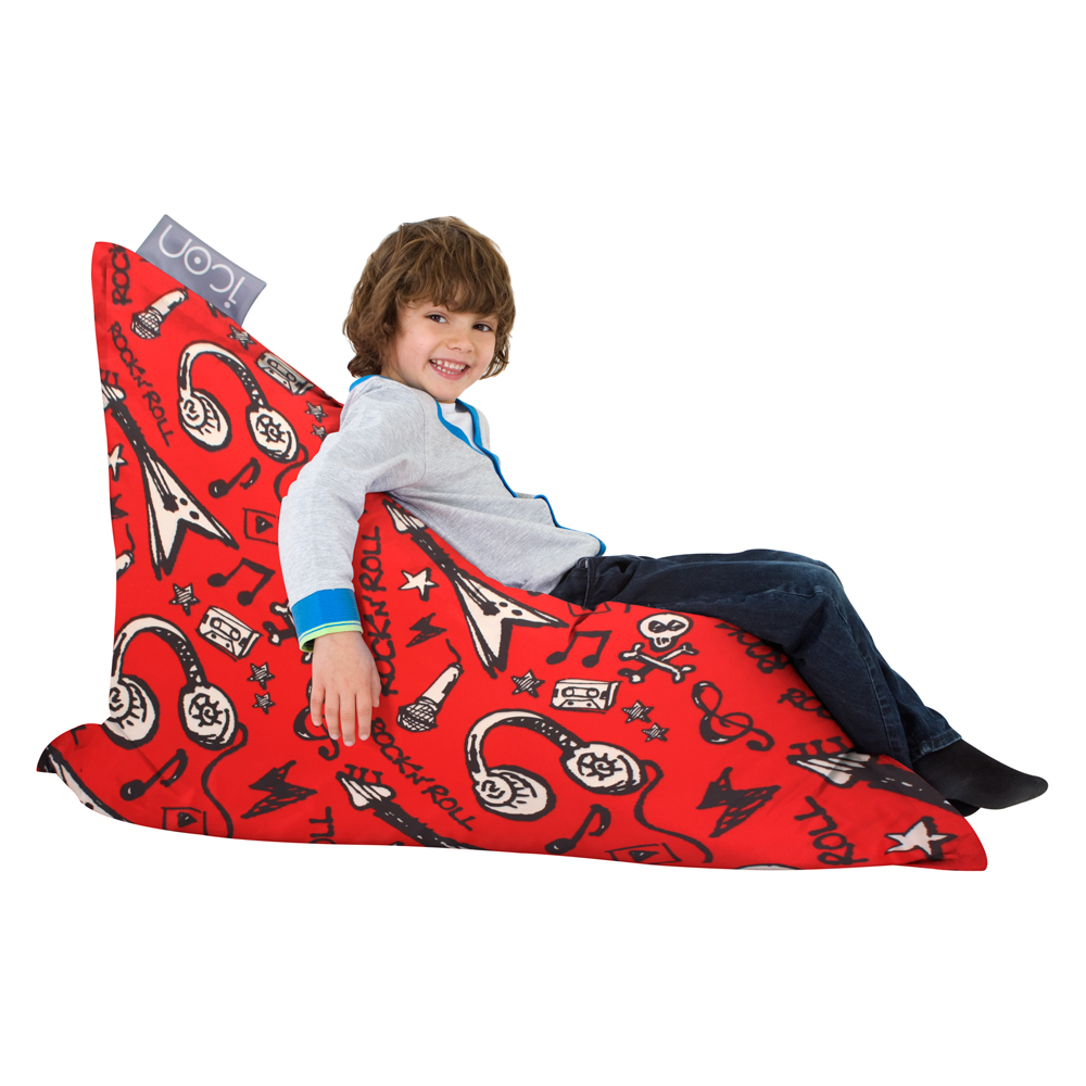 ICON Rock n Roll Graffiti Kids Bean Bag