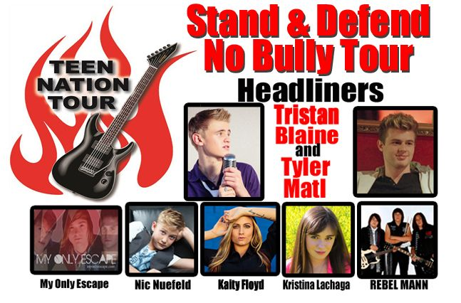 The Teen Nation Tour anti-bullying campaign and concert tour is coming to Dallas