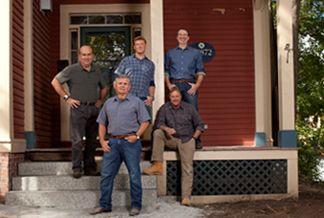 """The Arlington Italianate """"This Old House"""" Project Team - Photo: Matt Kalinowski"""