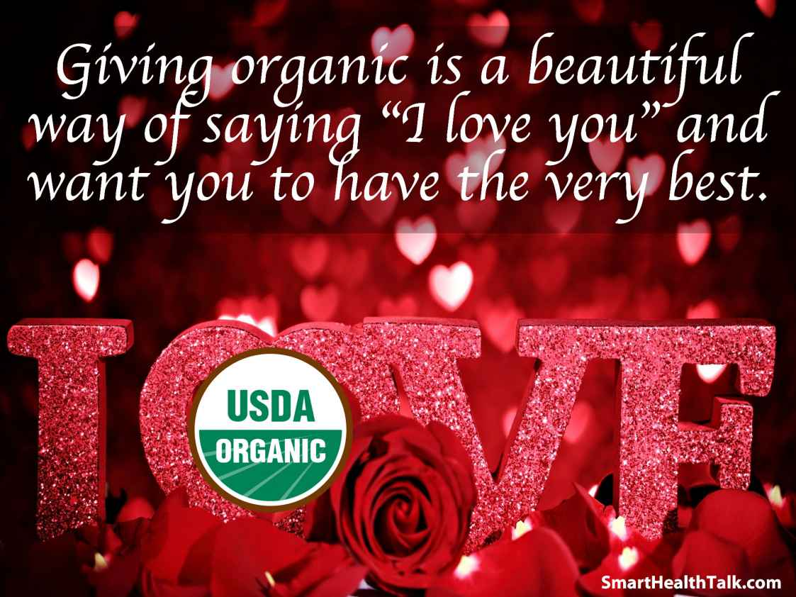 Say I Love You on Valentines With Organic Candy and Bouquets