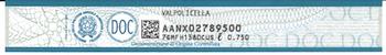 Valpolicella DOC necktag - applicable as of Feb 2014