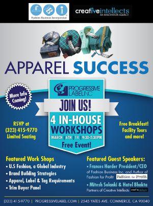 Apparel Success 2014 Seminar Series