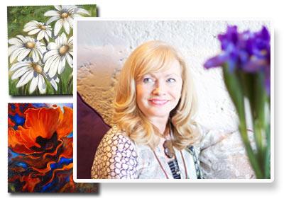 Artist Sandra Forzani