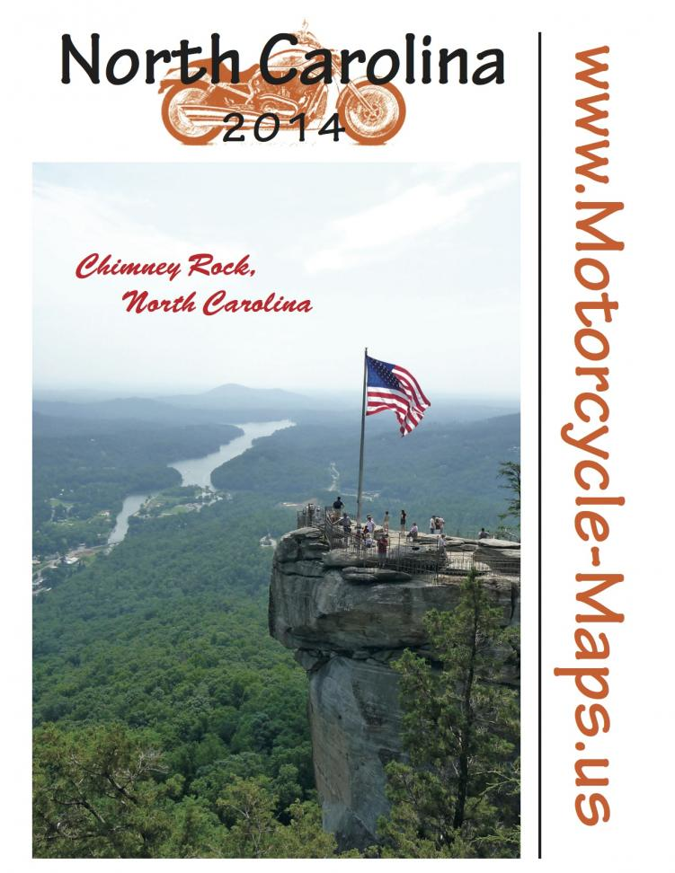 Front cover 2014 NC map