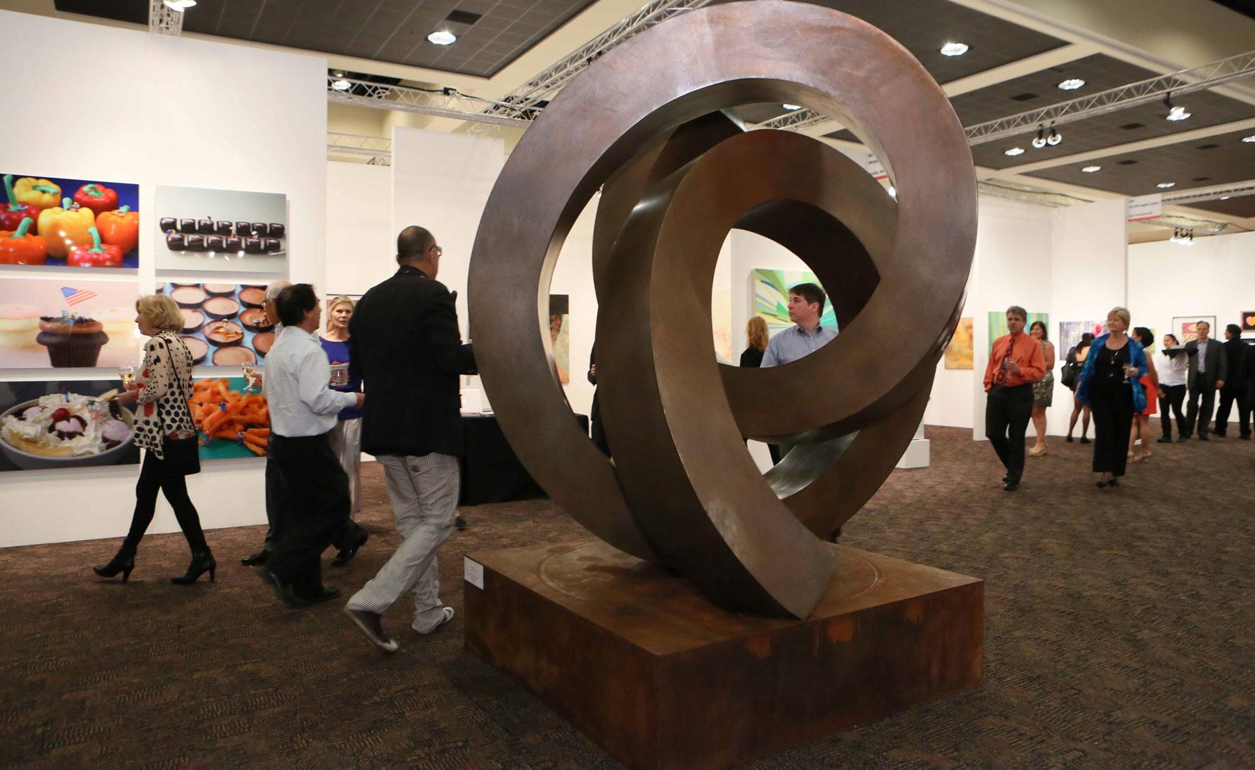 Bronze Sculpture by Artist Gino Miles - Photo Credit John Paschal JPI Studios