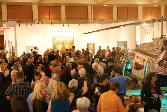 Inside the Palm Springs Fine Art Fair - Photo Credit Gregg Felsen Photography