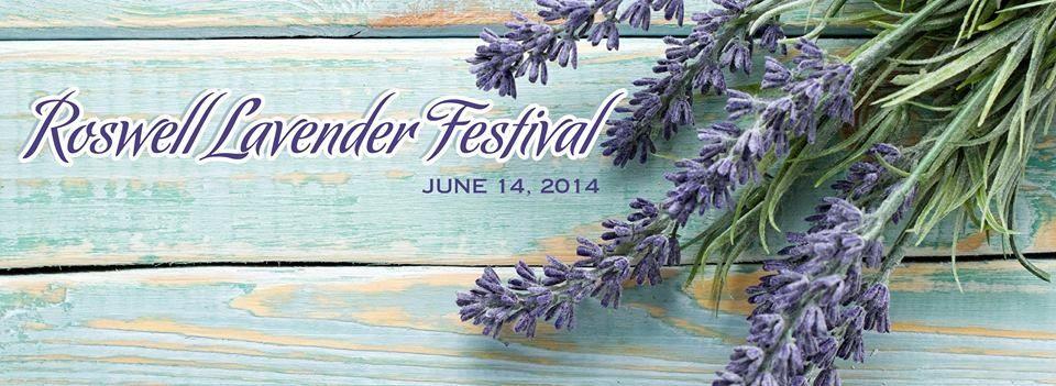 Roswell Lavender Festival Banner