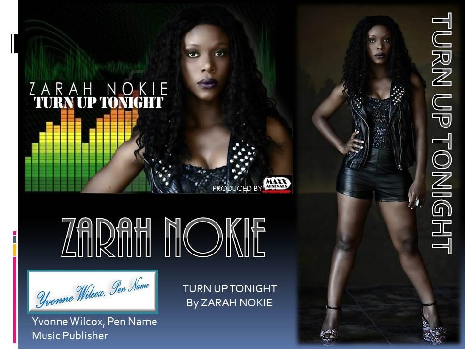 Album Cover Zarah Nokie