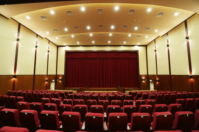 School Auditorium, Indian high School @ Dubai Silicon Oasis