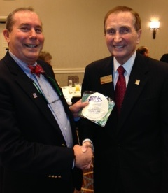 David Alfin with Bill Watson of Watson Realty Corp