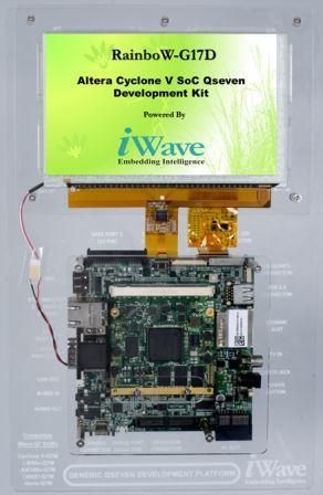 Altera-Cyclone-V-SoC-Development-Platform