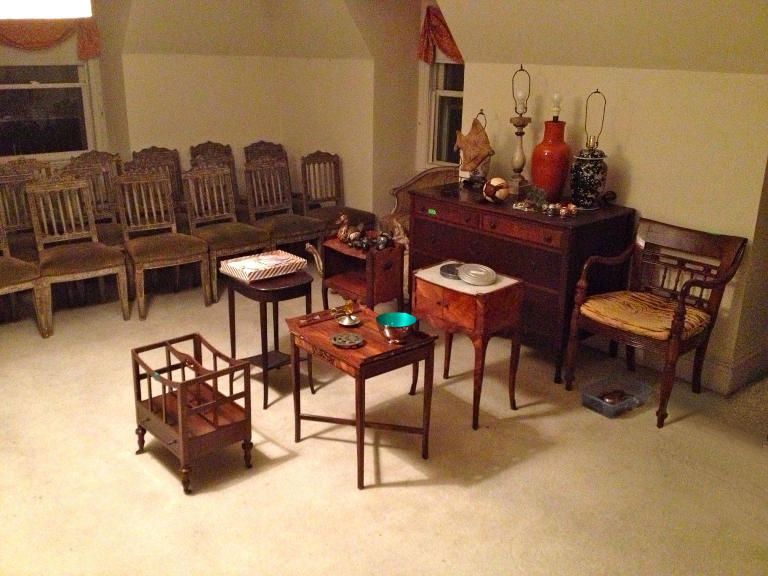 Family Furnishings Inventoried and Organized