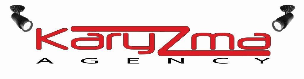 Karyzma white logo 2