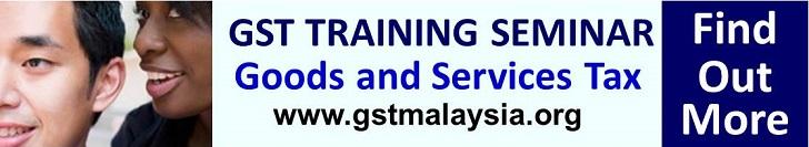 GST Malaysia Training 2014 to 2015 to 2016