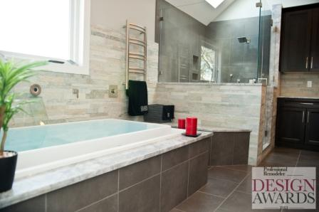 Award winning NJ bathroom remodel