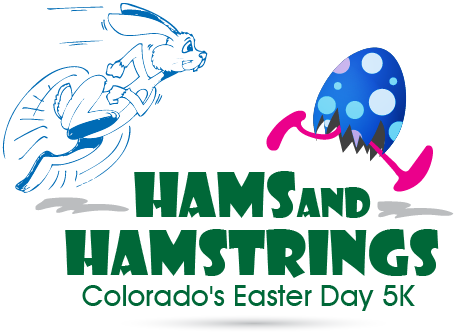 Hams and Hamstrings 5K Logo