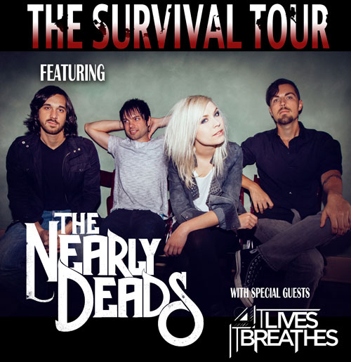 The Nearly Deads - The Survival Tour