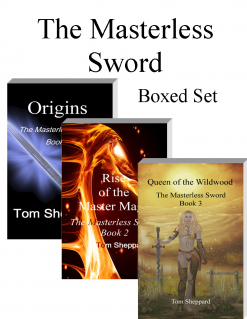 Tolkien mythology and science come together in The Masterless Sword Boxed Set