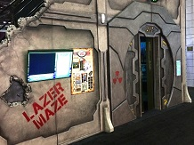 Creative Works designs custom facades for their Lazer Frenzy laser mazes