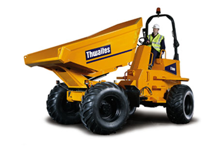 New Thwaites 9T Power Swivel Site Dumper