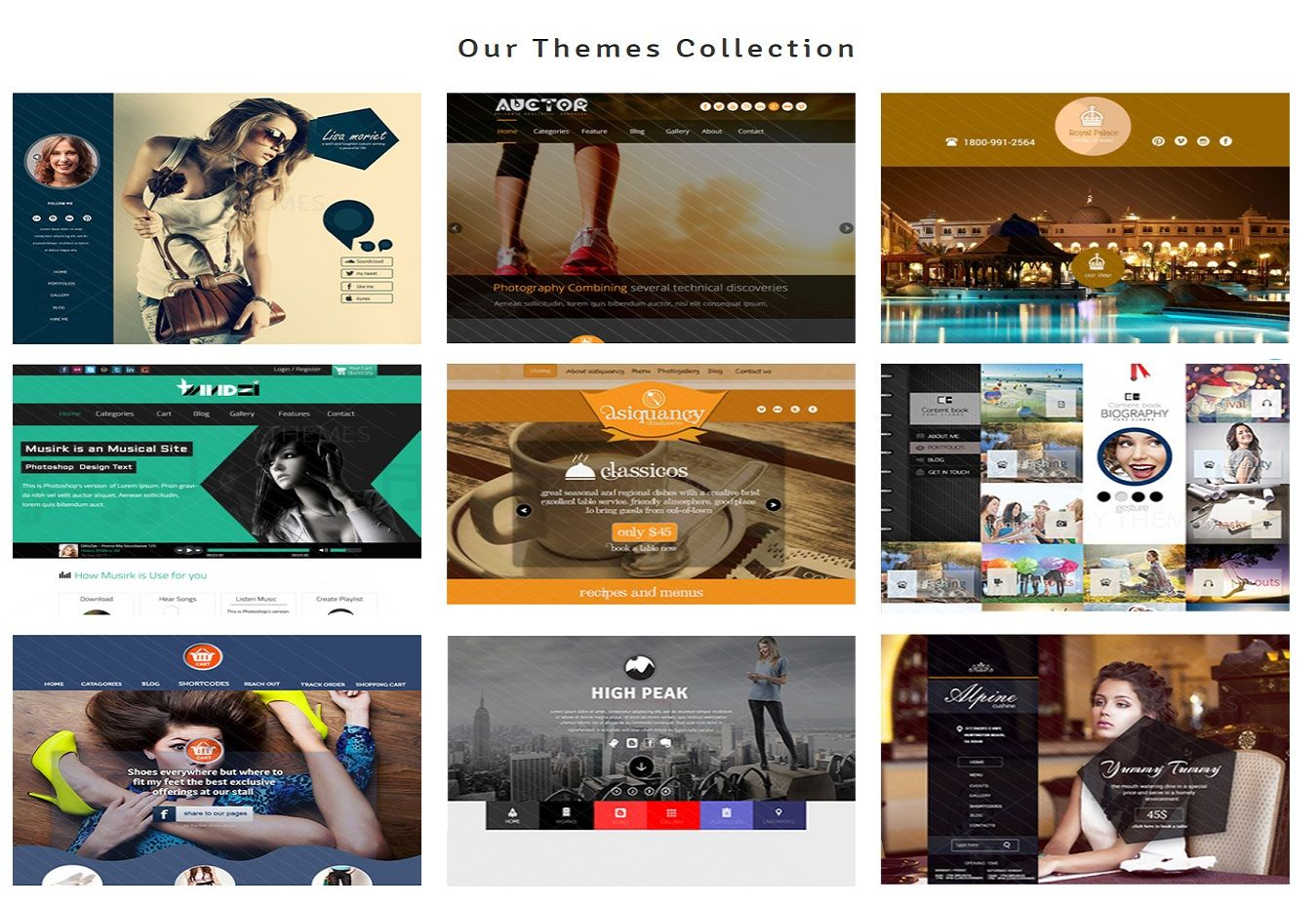 Themes Collection