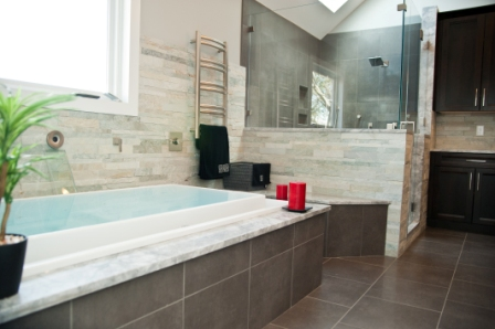 Award-winning master bathroom remodel in New Jersey