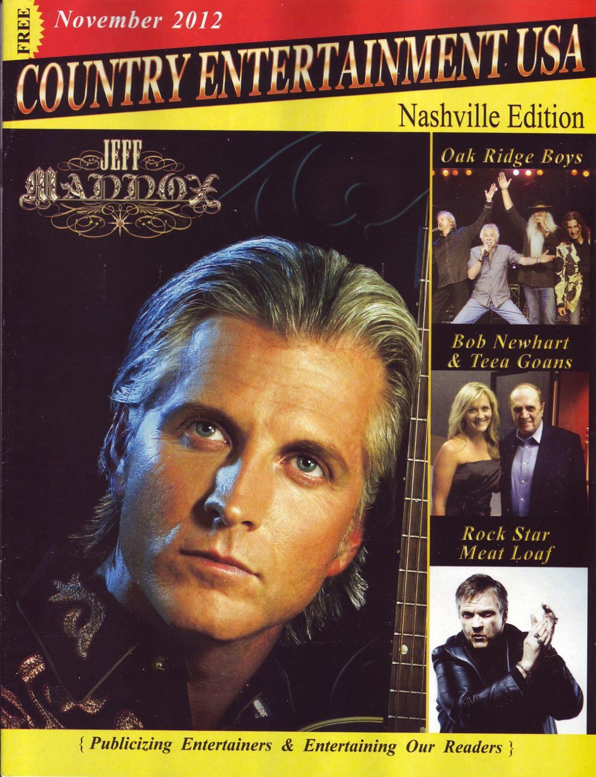 Jeff Maddox Magazine Cover
