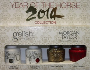 Gelish Year of Horse Collection for the 2014 Chinese New Year