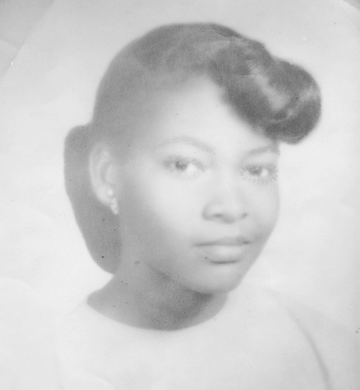 Ouida Fay McLendon-Miss Frederick Douglass 1952- photo captured Wyley's heart.