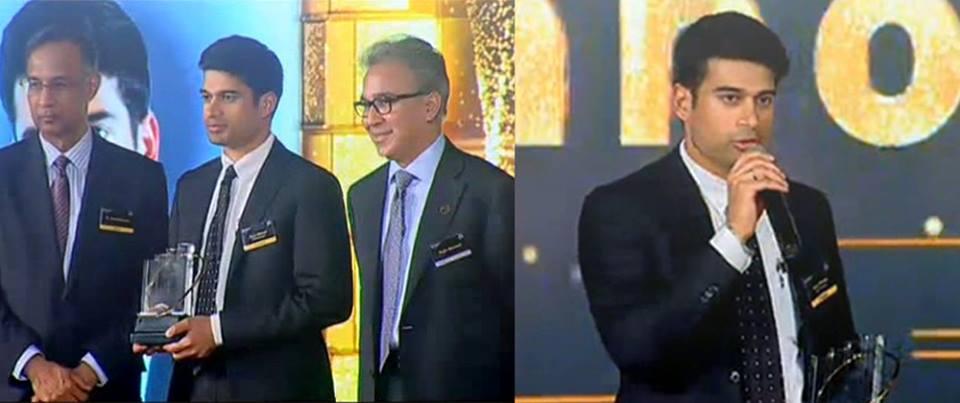 Ravi Menon with EY award