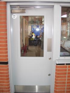 Ballistic Steel Door