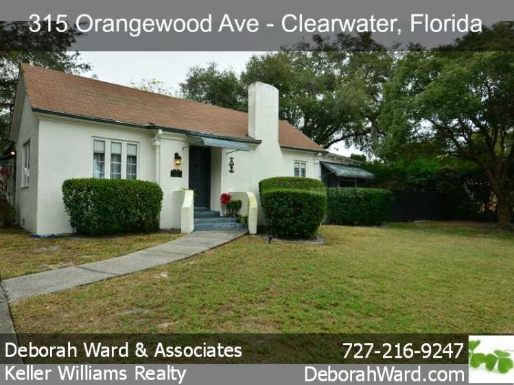 Charming historic clearwater florida home for sale with for Homes for sale with guest house