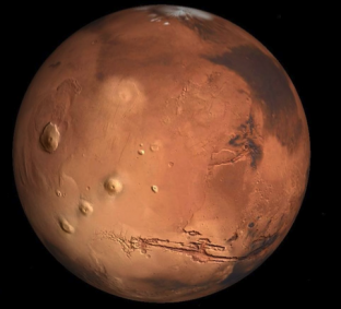A crowdsourced map of Mars is being built at www.uwingu.com
