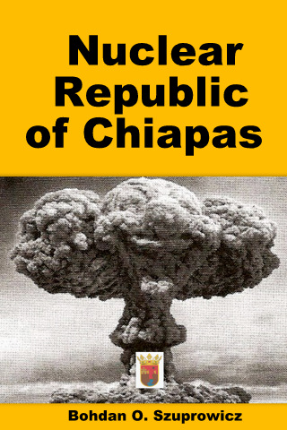 E-Title Cover for the Forthcoming Nuclear Blackmail Fiction  E-Book