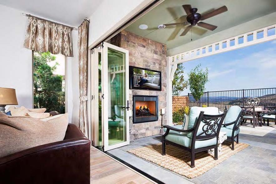 Del Webb at Rancho Mission Viejo's Plan 2 Indoor/Outdoor Living