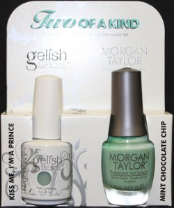 The Two of a Kind Combo, new from Harmony Gelish and Morgan Taylor