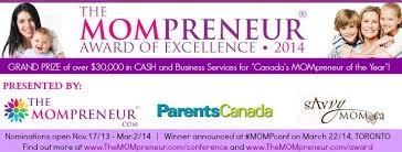 The Mompreneur 2014 Award of Excellence www.themompreneur.com/award