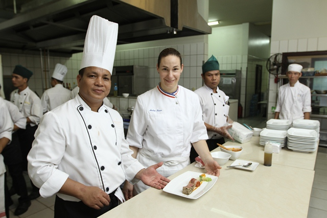 2012 Charity Gala Dinner with MOF Chef Andree Rosier