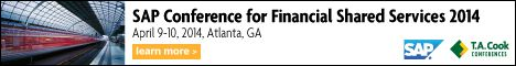 SAP Conference for Financial Shared Services