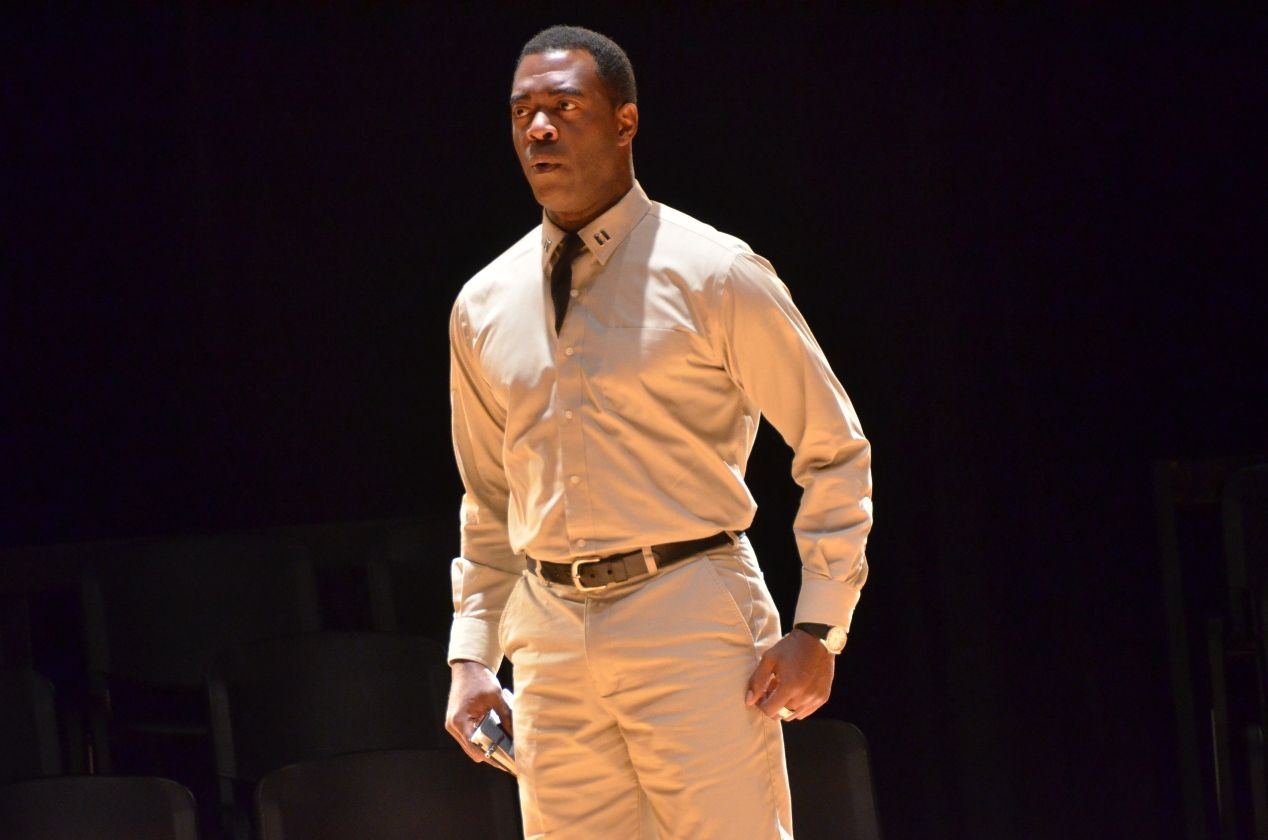 Daver Morrison - A Soldier's Play Award Nominee(Photo by Pamela Green)