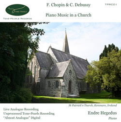 Piano Music in a Church CD