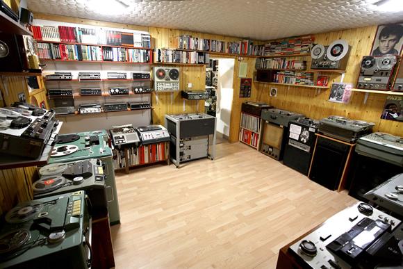 Tape recorder museum