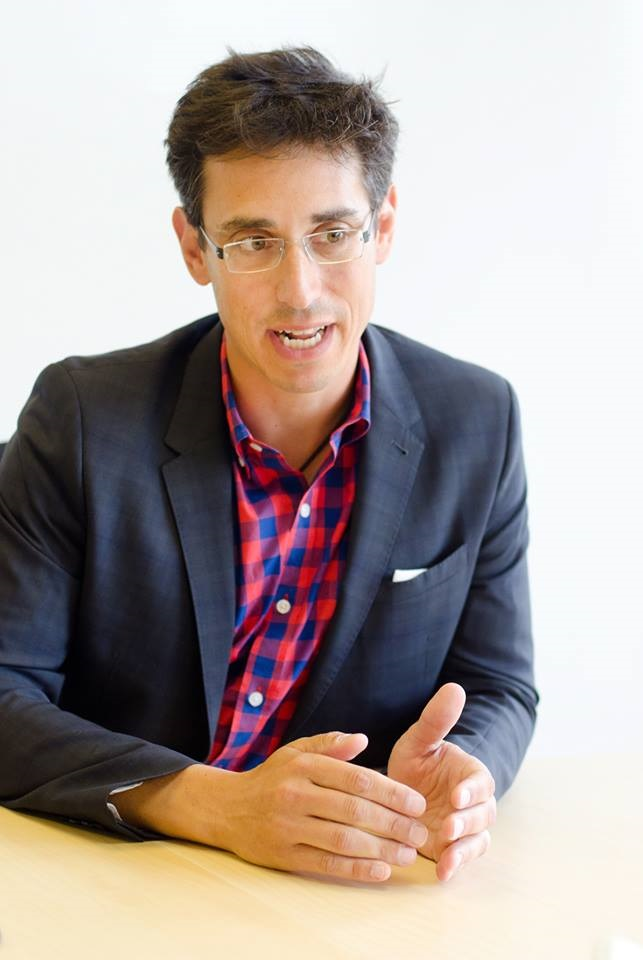 Evan Falchuk, United Independent Party candidate for Governor of Massachusetts