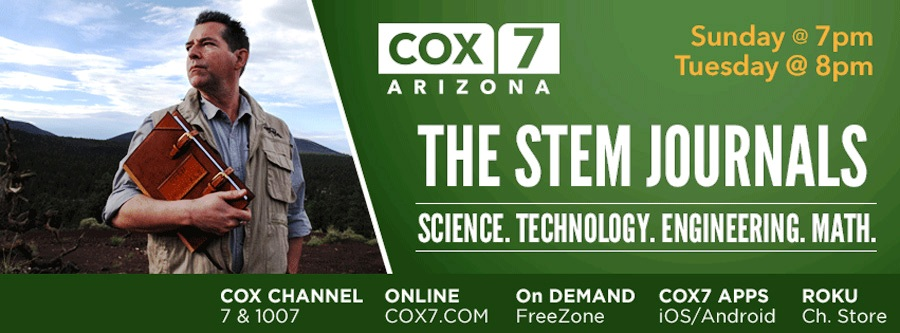 "Viewing information for ""The STEM Journals"" with Geoff Notkin."