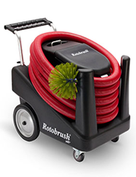 Rotobrush aiR+XP Is the best air duct cleaning equipment.